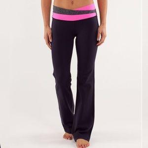Lululemon Astro Pant Yoga Black Swan Herringbone